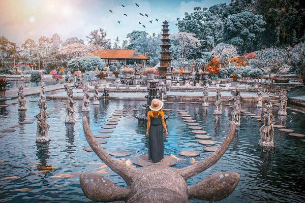 Taman Air Tirta Gangga Bali