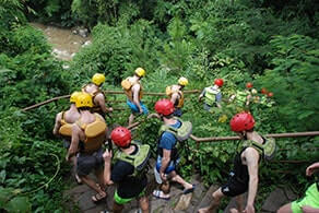 Fun Gathering dan Rafting Ciwidey