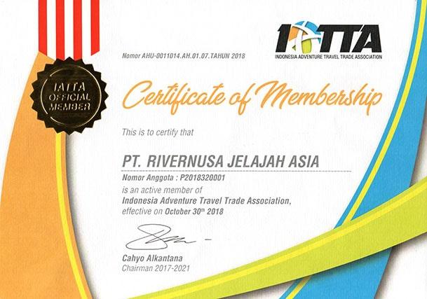 Member of IATTA